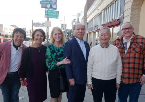 Lansca Members with Mr. George Takei (Actor)